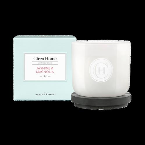 CLEARANCE Circa Home Candle 260g - Jasmine & Magnolia