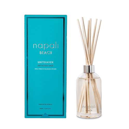 Napali Reed Diffuser - Whitehaven -Driftwood & Sage