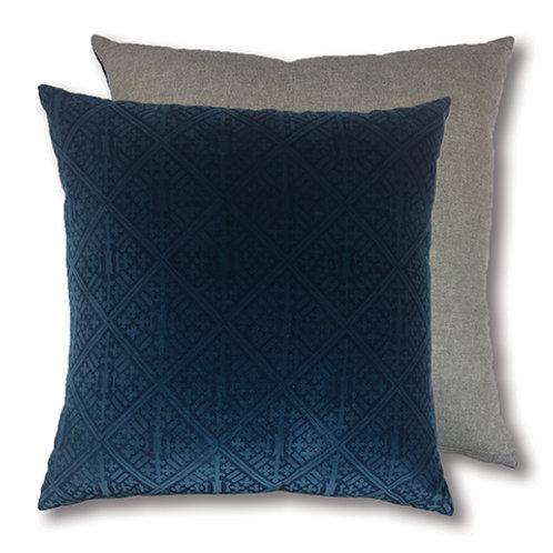 CLEARANCE Blackheath Deep Blue Cushion