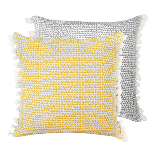 Matteo Yellow Cushion