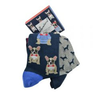 Mens 2 Pk Gift Boxed Dogs 7-11