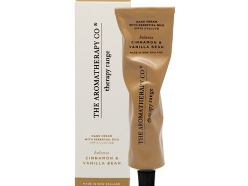 Aromatherapy Co Hand Cream - Cinnamon & Vanilla Bean