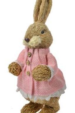 Straw Girl Rabbit