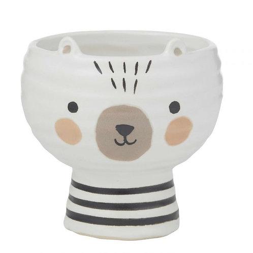 Ollie Bear Pot
