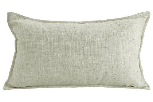 Oblong Linen Cushion - Beige