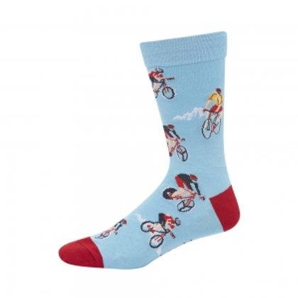 Mens Tour de France Bamboo Socks 11-14