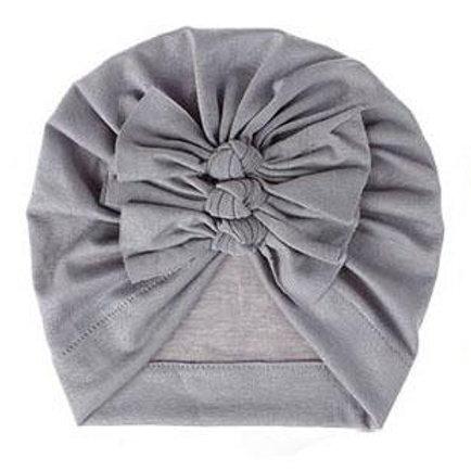 Baby Turban - Grey