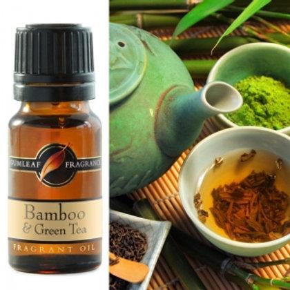 Fragrant Oil - Bamboo & Green Tea