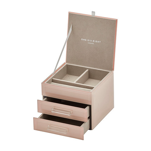 Gabrielle Small Jewellery Box - Blush