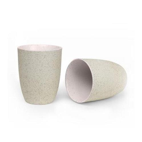 Robert Gordon Granite Latte Cup 2 Pk - Pink