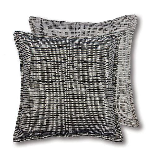 Haze Blue/White Cushion