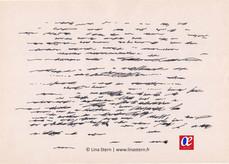 Asemic calligraphy 9