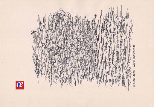 Asemic calligraphy 8