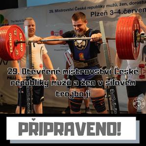 29. Otevřené mistrovství České republiky mužů a žen v silovém trojboji