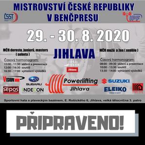 16. Otevřené mistrovství České republiky dorostu, juniorů a masters v benčpresu