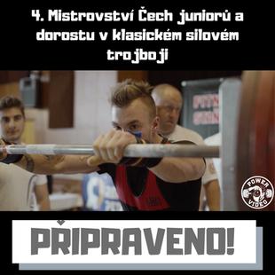 4. Mistrovství Čech juniorů a dorostu v klasickém silovém trojboji