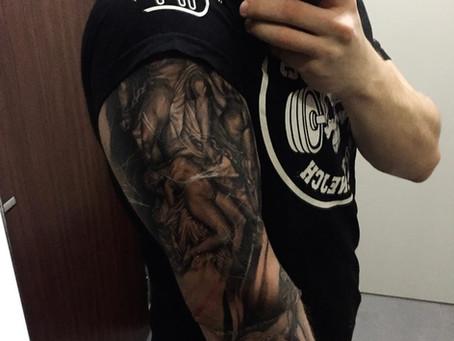 Tetování a silový trénink?