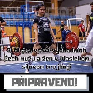 8. Mistrovství východních Čech mužů a žen v klasickém silovém trojboji