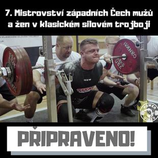 7. Mistrovství západních Čech mužů a žen v klasickém silovém trojboji