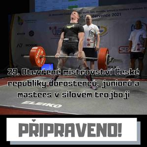 29. Otevřené mistrovství České republiky dorostenců, juniorů a masters v silovém trojboji