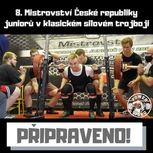 8. Mistrovství České republiky juniorů v klasickém silovém trojboji