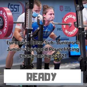 European Open, Sub-Juniors & Juniors EQ
