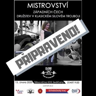 Mistrovství západních Čech družstev v klasickém silovém trojboji