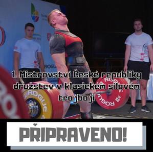 1. Mistrovství České republiky družstev v klasickém silovém trojboji