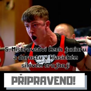 5. Mistrovství Čech juniorů a dorostu v klasickém silovém trojboji