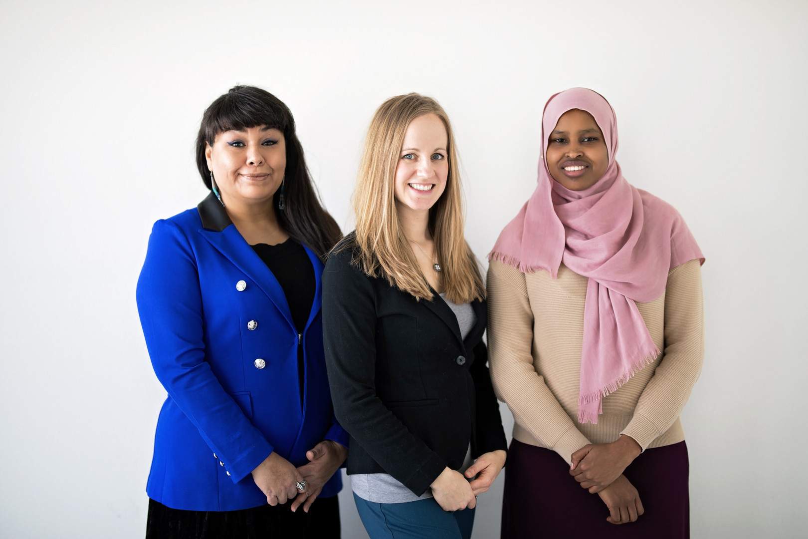 Tracey Wilkie, Kari Breker & Hamida Dekane