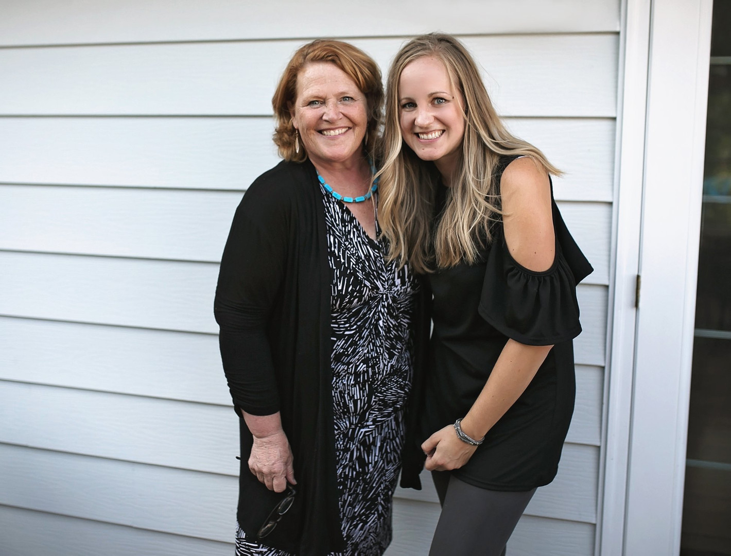 Kari with Heidi Heitkamp in 2018
