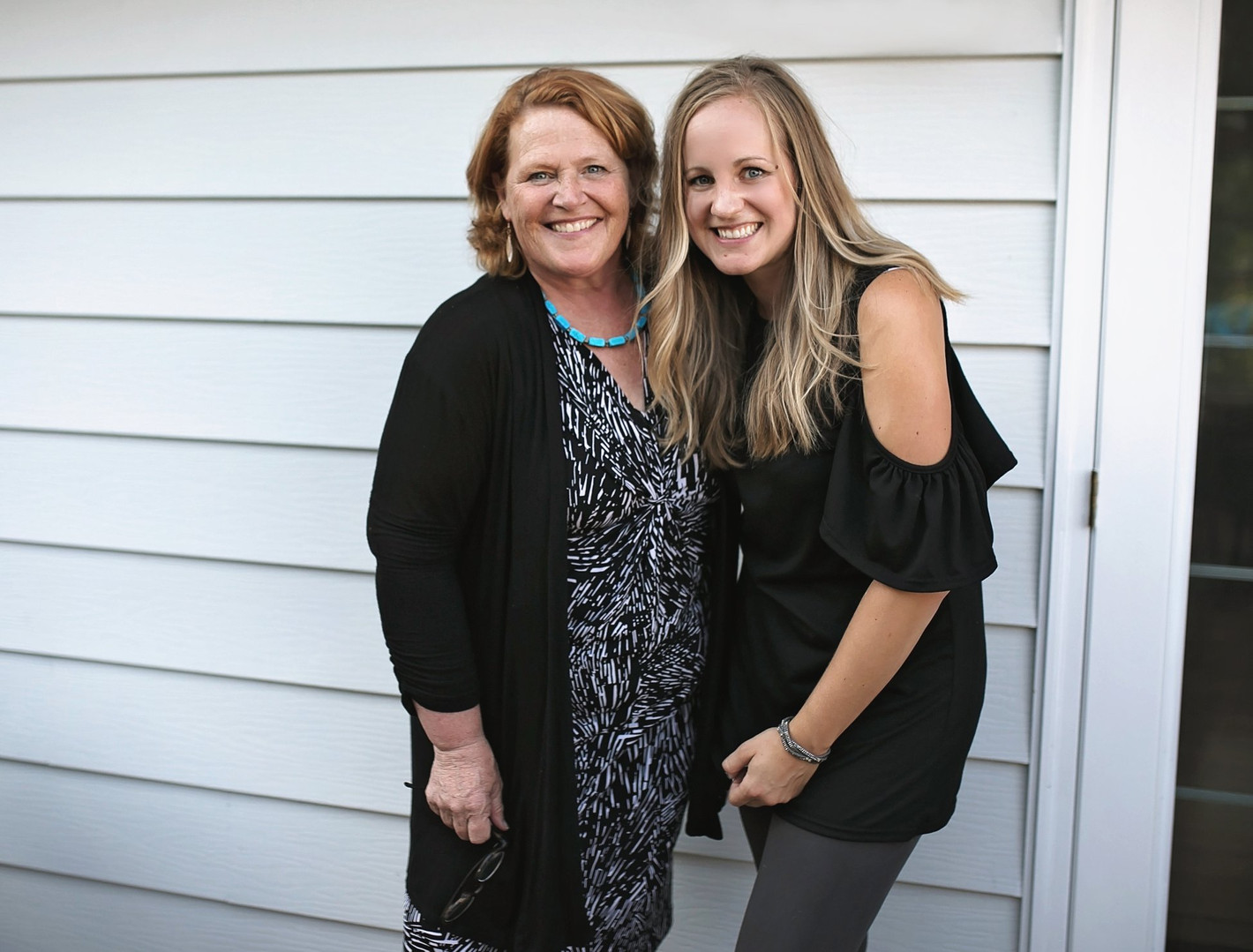 Kari with Heidi Heitkamp in 2018