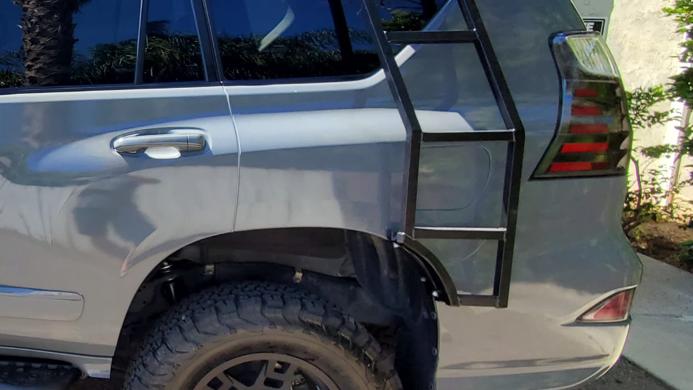 Lexus gx 460 side ladder