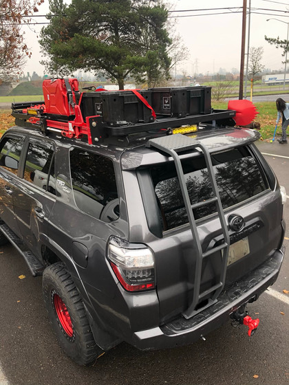 5th GEN. 4RUNNER REAR LADDER