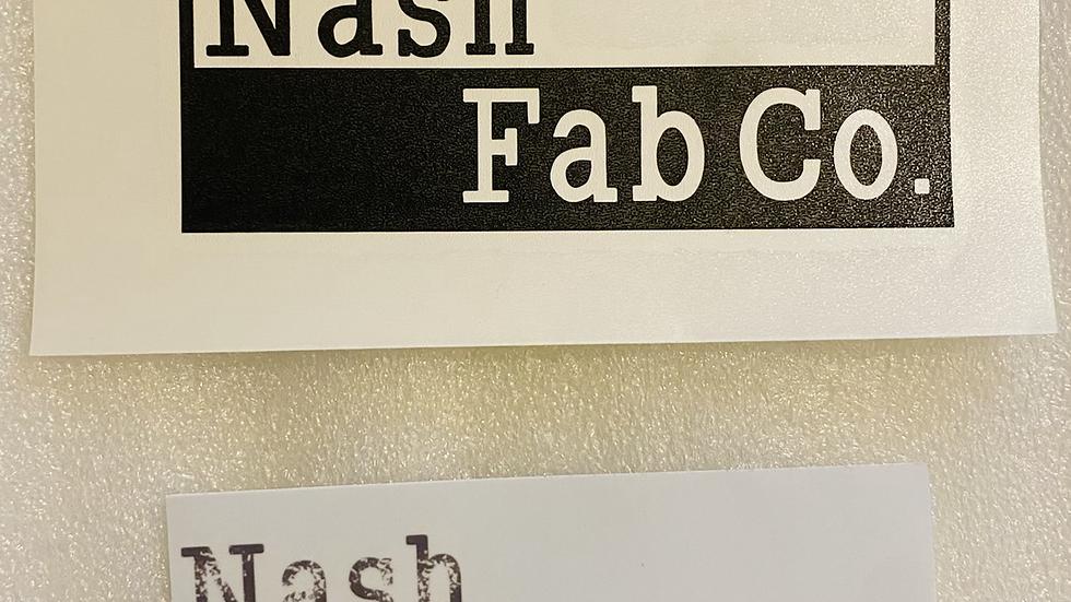 NashFabCo decals