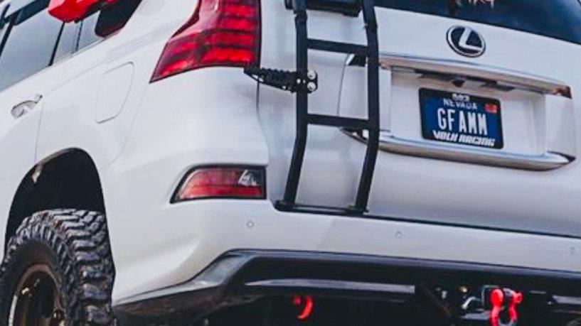 Lexus gx 460 rear ladder