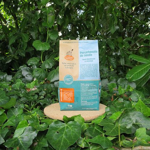Percarbonate de soude 1 kg  (blanchissant linge et alternative à l'eau de javel)