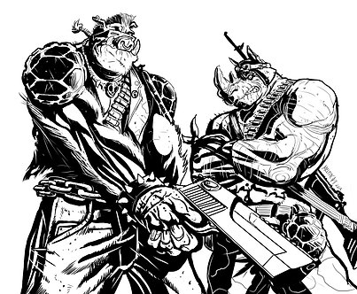 black and white bebop and rocksteady