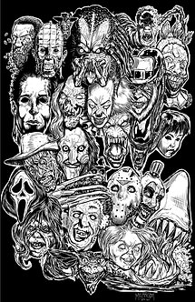 Modern Horror Monsters