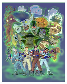 Real Ghostbusters 16x 20