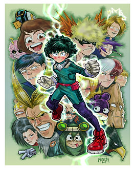 My Hero Academia 16x20
