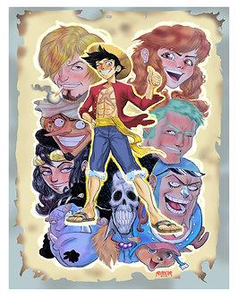 One Piece 16x20