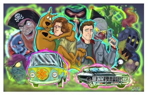Scoobynatural 11x17