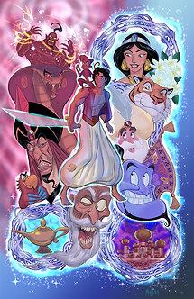 Aladdin 11x17