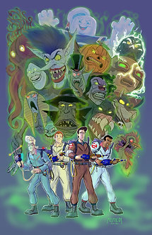 The Real Ghostbusters 11x17