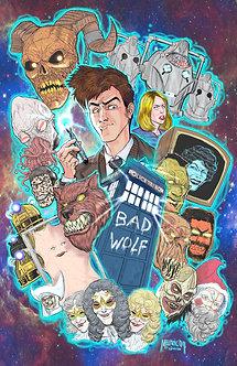 Dr. Who David Tennant first season 11x17