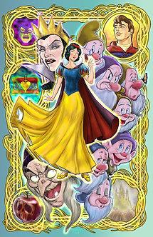 snow white 11x17
