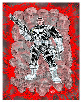 Punisher 16x20