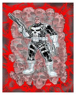 Punisher 16x20