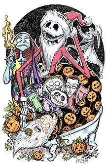 Nightmare Before Christmas act 2 11x17